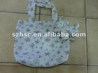 foldable reusable environmental nylon shopping bag