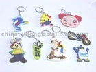 High-quality promotional rubber keychain