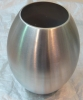 High quality! Stainless steel Drum shape flower vase