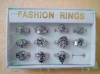 Zinc alloy ring with packing