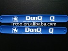 2011 Hot Sale Products Silicone Rubber Slap Bracelets/Wristband/Slap Wrap Bands