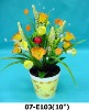 easter flowers wreaths home decoration