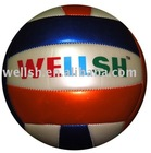 metallic shine PVC volleyball,18 panels
