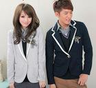 Varsity Uniform Coat Dress Blazer Jacket Coats