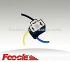 H4 Bent Angle Ceramic Headlamp Socket