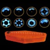 Huge discount !! Front light for bike with 5 word patterns