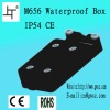 IP54 screw waterproof connector box