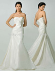Fancy Tiered Chapel Mermaid Plus Size Wedding Dress
