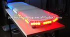 Police car lightbar, 12V, 1W/LED, LED warning light bar
