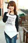 top fashion korea women t shirt