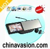 Rearview Mirror with Built-in GPS Navigation with Bluetooth headset and 720P HD DVR