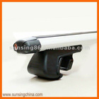 8114+B1 Aluminum oval bars Universal Car Roof Rack