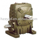 FCA worm reduction gearbox