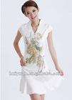 wholesale traditional clothes modem cheongsam Chinese Dress, Cheongsam, Silk Dress, Traditional Dress