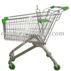 European mini shopping cart