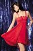 Sexy chiffon nightie underwar lace nightwear lingerie SJ-SH-12806