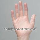 Vinyl exam gloves PVC