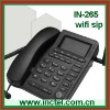 voip 5 sip enabled WiFi Sip Desktop Phone