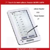 "7"" Touch Screen eBook Reader Media Player With TTS MP3 MP4-White"