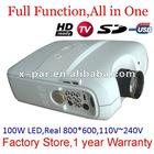 Cheap Projector for home theater,LCD projector with USB TV