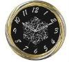 analog beautiful new design metal wall clock