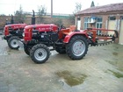 With full spring steel teeth for ditching soft and light heavy duty soil driven by wheel tractor chain trencher