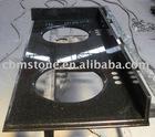 Black Galaxy Vanity Top