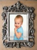 home decor antique style picture photo frames,wholesale resin photo frames