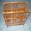 Wood Storage Stackable 4 Tier shoe rack