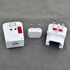 All in one US UK AU EU Universal Travel Adapter AC Power Plug design for assembly and disassembly