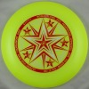 175g Professional Ultimate Frisbee/Flying Frisbee-Five Star Yellow