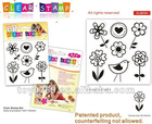 Clear Stamp Set-Flowers and Bird