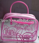 Bright pvc bag for wedding candy