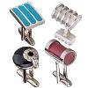 Fashion jewelry cufflinks Silver Jewelry accessories cufflinks jewelry supply