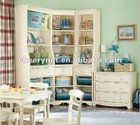 modern children study room furniture sets
