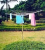 Alu folding clothes dryer stand