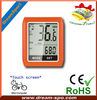 DCY-101 new touch-screen wireless cycle computer/bike computer of bike accesories with speed/distance/odometer