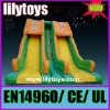 Hot toys for amusement park--giant inflatable dry slide