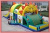lion style children outdoor giant inflatable bouncer