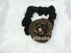 sparkle Clover Crystals Beautiful rose elastic cord (HA-0037)