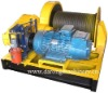 electric boat winch for pulling