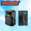 Plastic Speaker Box with EQ PP-2515AUES