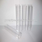 clear pvc square tube