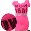 Fashion sytle sequin t shirts