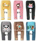 Busha spring and autumn fashion design baby training pants