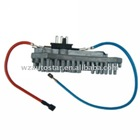 Blower motor resistor, control unit air conditioning,Blower regulator for Benz 2028206210