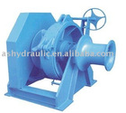 Hydraulic anchor windlass