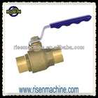 brass ball valve for wave handle