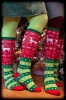 2012 new fashion christmas socks