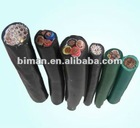 EPR insulated tinner copper wire braided PVC outer sheath control cable